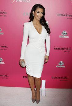 Kim Kardashian Leather Clutch
