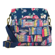 Story Books Mini Reversible Messenger Bag