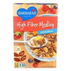 Barbara's Bakery High Fiber Cereal - Original - Case Of 6 - 12 Oz.