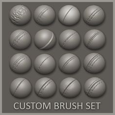 Hello there! These are my custom made high resolution seam-brushes that I created for zBrush. Based on 1k psd files with custom icons these brushes are ready to use as they are. Just extract them to your brushes folder and navigate there with lightbox in zbrush. Make sure you have enough resolution on your mesh and there you go! See the example image in the cover! These work excellently on any cloth types but especially with new leather materials. I included the psd files also, but they are…