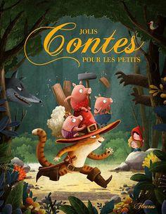 Jolis contes pour les petits on Behance