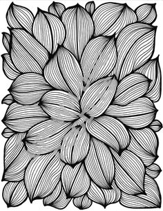 LEAVES COLORING PAGE by BrownDogDoodles on Etsy
