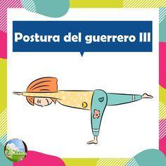 Fichas con posturas de YOGA para niños en PDF para descargar Yoga For Kids, Tai Chi, Yoga Poses, Relax, Patio, Sport, Preschool, Standing Poses, Kids Yoga Poses