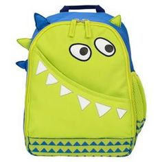 "Circo™ 13.5"" Monster Figural Kids Backpack - Green : Target"