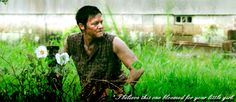 Daryl contemplates Cherokee roses  [ The Walking Dead ]