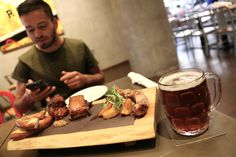 Dinner at Mill Street Breweries recently launched Beer Hall