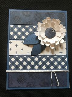 """Color Dare - Monochromatic """"Choose Your Blues"""" Paper Cards, Diy Cards, Circle Punch, Color Of The Year, Challenge Cards, Dares, Card Stock, Card Making, Challenges"""
