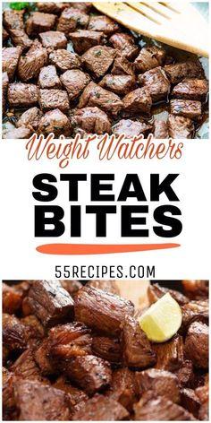 New Weight Watchers Dinner Steak Ideas Weight Watcher Dinners, Plats Weight Watchers, Weight Loss Meals, Weight Loss Drinks, Weight Gain, Losing Weight, Loose Weight, Weight Watcher Recipes, Weight Watcher Girl