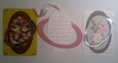 Saturn æg med ring DIY aeg med ring Påske kort