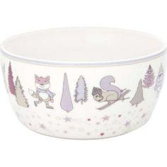 Kindeschüssel - Kids bowl - Forrest lavender von Greengate Dog Bowls, Mini, Lavender, Tableware, Microwave, Dinnerware, Dishes, Place Settings, Lavandula Angustifolia