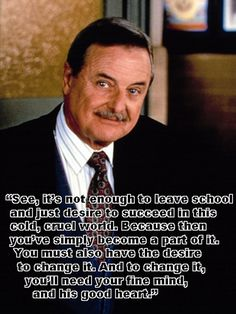 Life lessons with Mr. Feeny