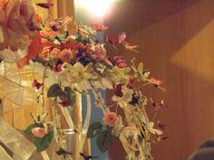 Handmade butterfly wedding bouquet alternate view
