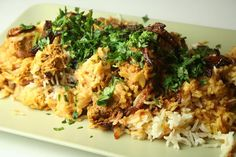 Lamb Biryani recipe. Biryani is a rice-based dish eaten in the Middle East and South Asia that consists of meat, vegetables, spices and yogurt. Lamb Biryani is among the most popular dishes in the subcontinent... colorful and delicious ! Posted by Nazia Nazar.