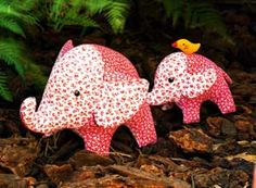 Sewing pattern for elephant