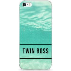 Twin Boss iPhone Case (MINT) – TWINNING STORE ❤ liked on Polyvore featuring accessories, tech accessories, mint iphone case, mint green iphone case, iphone cover case and iphone sleeve case