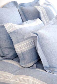 Libeco linen bedding...