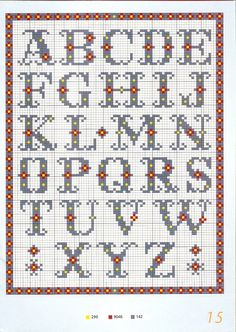 Thrilling Designing Your Own Cross Stitch Embroidery Patterns Ideas. Exhilarating Designing Your Own Cross Stitch Embroidery Patterns Ideas. Cross Stitch Letter Patterns, Cross Stitch Letters, Cross Stitch Boards, Cross Stitch Designs, Stitch Patterns, Cross Stitch Font, Embroidery Alphabet, Embroidery Patterns, Cross Stitching