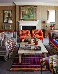 cool 46 Adorable European Living Room Design And Decor Ideas Living Room Designs, Living Room Decor, Living Spaces, Living Area, Living Rooms, Funky Home Decor, Mediterranean Home Decor, Maker, Living Room Inspiration