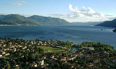 Wonderful view on the lake Maggiore, and Maccagno. Lombardia, Noth Italy