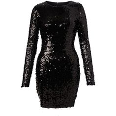 French Connection Sequins Dress ($100) found on Polyvore