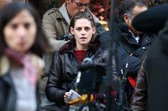 Kristen Stewart sur le Set de 'Personal Shopper' à... - Steffy mag Twifans