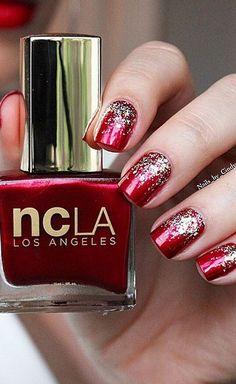 Hollywood Heartbreaker, nail lacquer, glitter, metallic