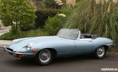 1970 Jaguar E-Type Series II 4.2-Liter Roadster