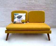 yello sofa  #KBHomes