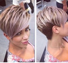 Gorgeous pixie cut
