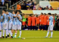 With Lionel Messi announcing his international retirement after a fourth final defeat, how will his Argentina career be remembered? Argentina Team, Messi Argentina, Copa America Centenario, Best Player, Lionel Messi, Fifa, Football, In This Moment, Sports