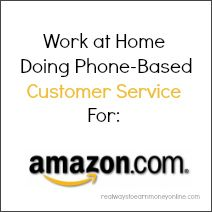 Amazon occasionally has openings for work from home customer service reps! A while back I wrote a post with a rundown of all the various work from home opportunities Amazon has to offer kind of sum...