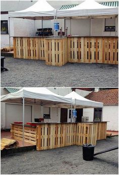 Cheap and Easy to Make Projects with Old Wooden Pallets: If you have a small conception in your mind that wood pallet projects are much costly to use in the home furniture products. Pallet Furniture Designs, Pallet Patio Furniture, Outdoor Furniture Plans, Outdoor Pallet Projects, Diy Wood Projects, Pallet Ideas, Recycled Pallets, Wooden Pallets, Pallet Wood