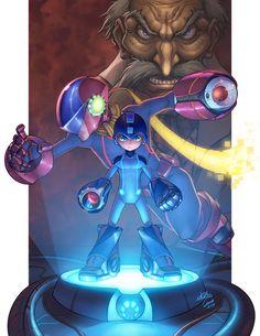 Megaman Rockman Now Loading... by omarito.deviantart.com on @deviantART