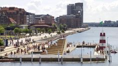 Havnebadet, Islands Brygge. Public 'beach area' in the city. #allgoodthings #danish spotted by @missdesignsays