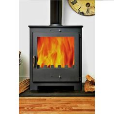 Contemporary wood burning stoves 5kw