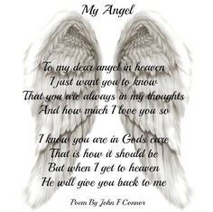 My Angel...by John F. Connor