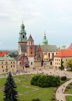Wawel hill from the castle tower