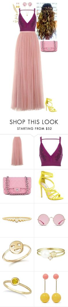 """Lily of the Sun - Cocktails by Cody"" by stinze on Polyvore featuring Little Mistress, River Island, Chanel, Steve Madden, Rivière, Ray-Ban, Bing Bang, Sweet Pea by Stacy Frati, Allurez and J.W. Anderson"