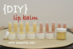 Making your own lip balm is fun and easy! Check out our blog post to see how you can make your own lip balm with essential oils: http://doterrablog.com/diy-essential-lip-balm