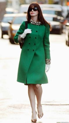 devil green coat