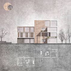 Nice elevation render by ⤵ Tag to share yo. - Dress Models elevation Nice elevation render by ⤵ Tag to share yo. Nice elevation render by ⤵ Tag to share your works Nice elevation render by ⤵ Tag to share yo… Ni Section Drawing Architecture, Architecture Design, Architecture Graphics, Architecture Visualization, Architecture Presentation Board, Architectural Presentation, Architecture Diagrams, Presentation Boards, Architect Drawing