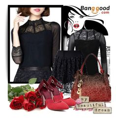 Banggood 8 by danijela-3 on Polyvore featuring polyvore fashion style clothing