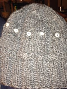 Owl hat - knitted