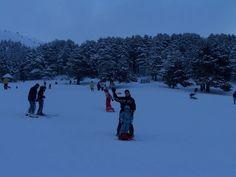 Donde ir a la nieve con niños
