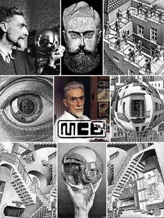 Maurits Cornelis, known as M.C. Escher (June 17, 1898 — March 27, 1972), was a Dutch graphic artist known for his often mathematically inspired woodcuts, lithographs, & mezzotints. These feature impossible constructions, explorations of infinity, architecture, and tessellations. He made 448 lithographs, woodcuts and wood engravings and over 2000 drawings and sketches. Escher's work has had a continuous influence in science and art, making him one of the world's most famous and popular…