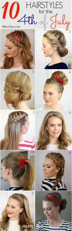 Marvelous No Heat Hairstyles No Heat And Hairstyles For Teens On Pinterest Short Hairstyles Gunalazisus
