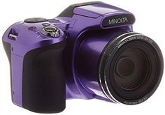 Minolta 20 Mega Pixels Wifi Digital Camera with Optical Zoom & HD Video Optical with LCD, x x Purple : Camera & Photo Cameras for Photography. Nikon D5200, Dslr Nikon, Dslr Lenses, Dslr Cameras, Photoshop Elements, Photoshop Actions, Dslr Photography Tips, Photography Lessons, Scenic Photography