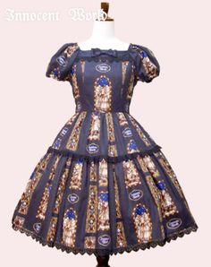 (EASTER DISCOUNT) Innocent World Three Archangels Tiered OP « Lace Market: Lolita Fashion Sales and Auctions