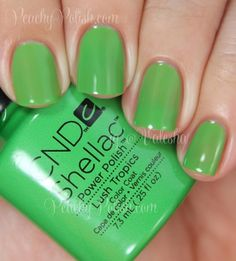 CND Shellac: Summer 2014 Paradise Collection Swatches and Review