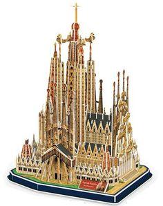 3D Puzzle - Sagrada Familia (194 Pieces) - SuperSmartChoices - 1